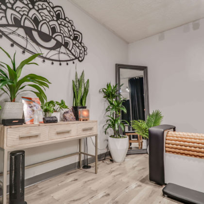 Spacious and Relaxing Spa Clinic