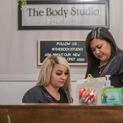 Reception Area The Body Studio Wellness Spa