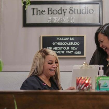 The Body Studio Reception Area